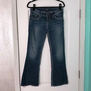 Silver women's Suki boot jeans  29